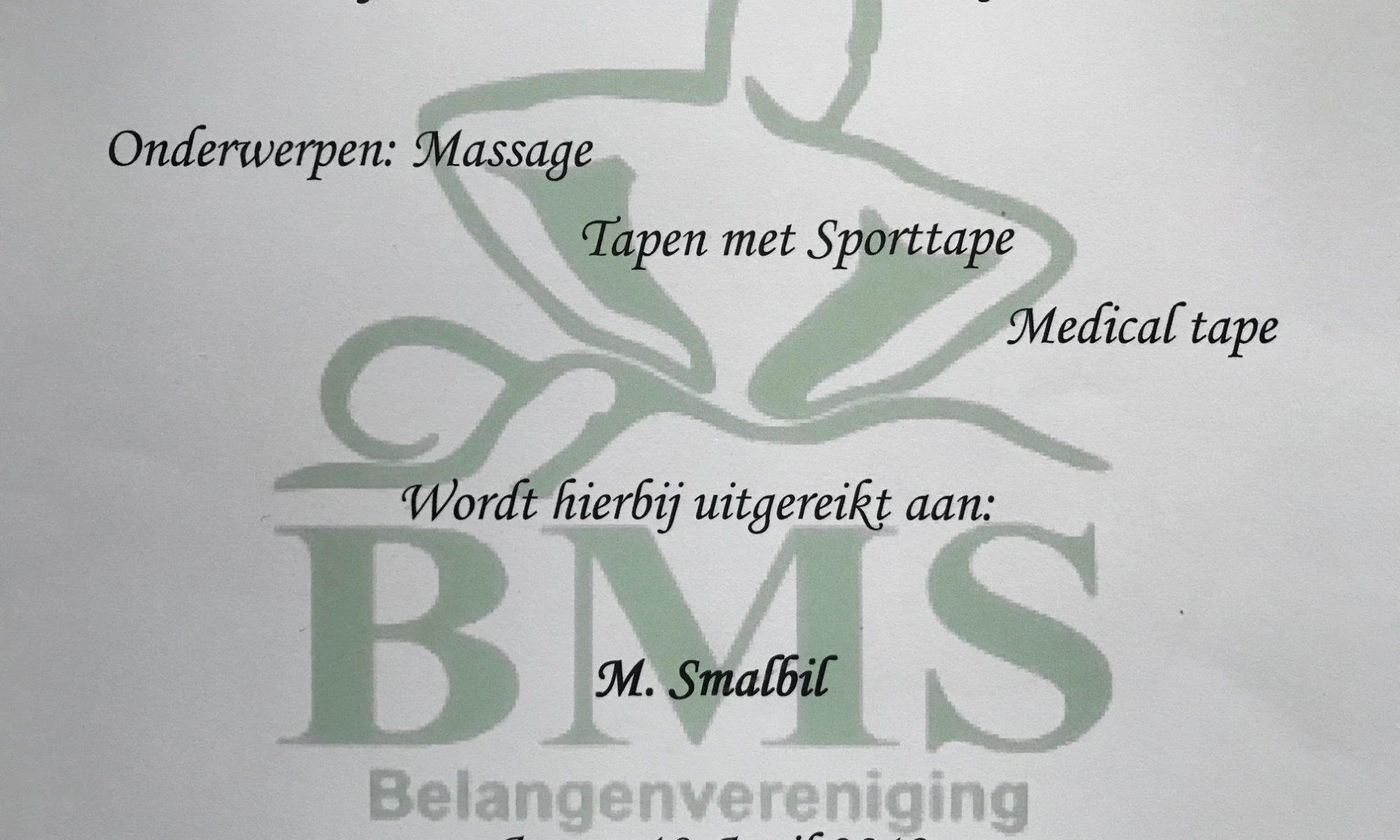 massage assen medical tapen rugmassage